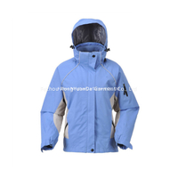 BF-JK-013PR Womens polyester ripstop 3 in 1 jacket