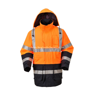 BF-JK-001FR 300D Polyester Oxford Conductive Fibre Safety Jacket