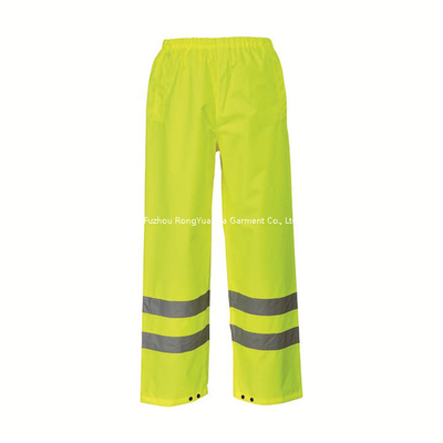 BF-P-001O Hi Vis 300D Polyester Oxford Reflective Safety Pant