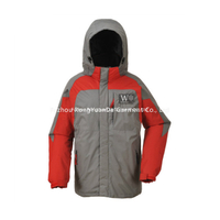 BF-JK-030PP Mens polyester pongee 3 in 1 waterproof jacket