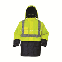 BF-JK-016O 300D Polyester Oxford 4 in 1 Reflective Safety Jacket