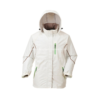 BF-JK-017PS womens Polyester waterproof light weight jacket