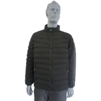 BF-PJ-010 Black Mens Winter Padded Jacket